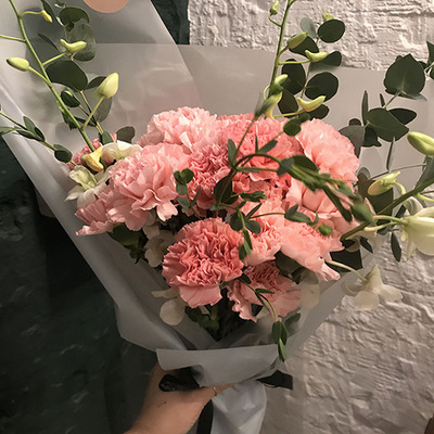 카네이션 꽃다발 小